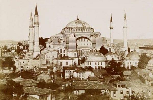 Constantinople Hagia Sophia 1890s.