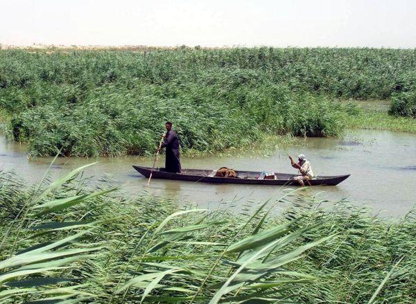 H μετακίνηση των κατοίκων γινόταν με τις παραδοσιακές βάρκες.