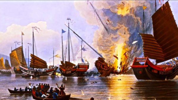 """Πώς οι Βρετανοί πυροδότησαν τον """"Πόλεμο του οπίου"""" για να απολαμβάνουν χωρίς κόστος το τσάι τους. Εκατομμύρια Κινέζοι εθίστηκαν και οι Βρετανοί πήραν τον έλεγχο του Χονγκ Κονγκ"""