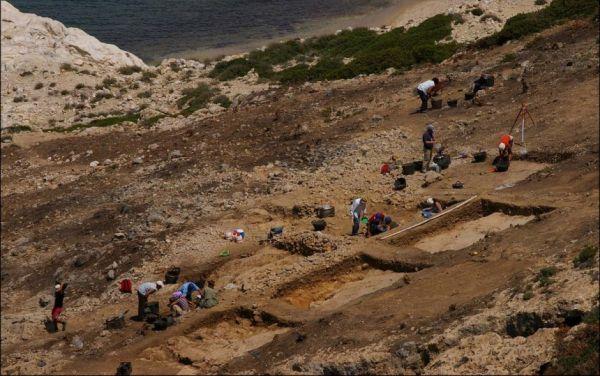 Ανασκαφές στο ακρωτήριο Κάβος της Κέρου, φωτογραφία:mcdonald institute for archaeological research