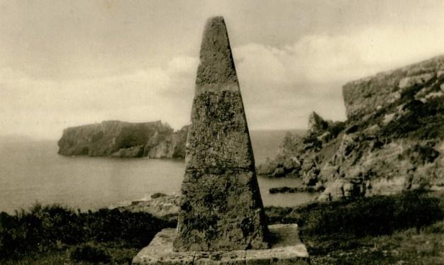Μνημείο του Αλέξη Μαλλέ στη Σφακτηρία. Χρονολογία έκδοσης 1932