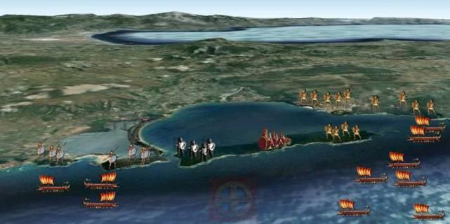 Οι Αθηναίοι κατάφεραν να αντέξουν τις επιθέσεις των Σπαρτιατών πίσω από τις πρόχειρες οχυρώσεις που είχαν φτιάξει μέχρι που ήρθαν ενισχύσεις, φωτογραφία:hellinon.net