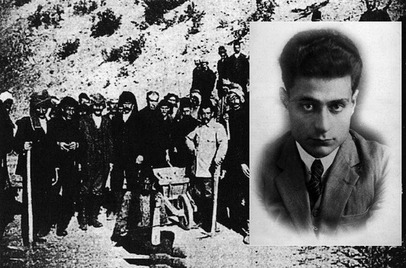 """""""Νούμερο 31328"""". Το βιβλίο ντοκουμέντο που γράφτηκε με το αίμα του Ηλία Βενέζη στα τάγματα εργασίας των Τούρκων. Οι περισσότεροι πέθαναν, αλλά αυτός κατάφερε να επιβιώσει και να γράψει για τα κάτεργα της Ανατολής"""