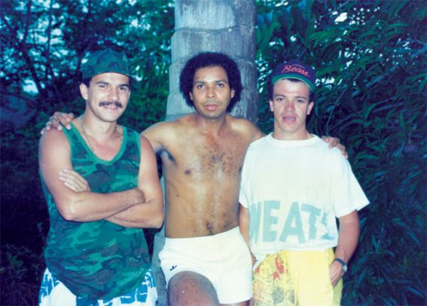 """Οι τρεις έμπιστοι εκτελεστές του Εσκομπάρ. """" El Negro, Pabon και Popeye"""""""
