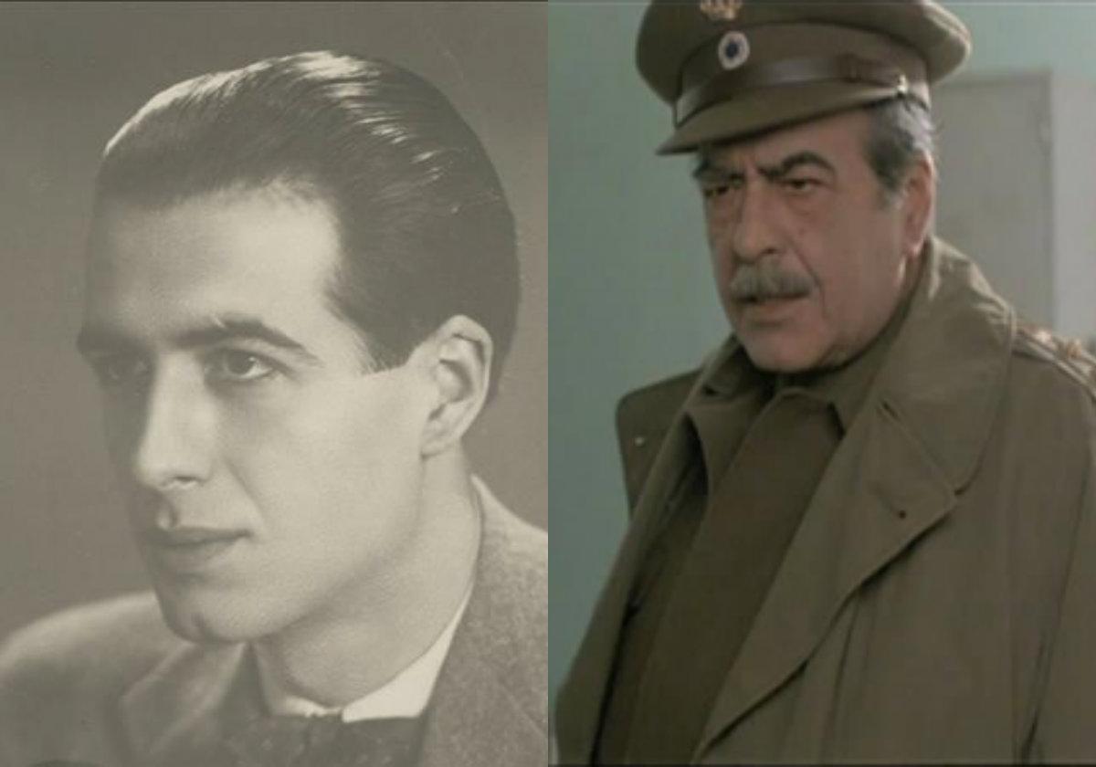 """Ανδρέας Φιλιππίδης ο αντισυνταγματάρχης από τη """"Λούφα και Παραλλαγή"""" παράτησε τη Νομική για το θέατρο. Ήταν παντρεμένος με τη Διαμαντίδου και την Παπαγιάννη. Υπήρξε και πρωταθλητής στο σκάκι"""
