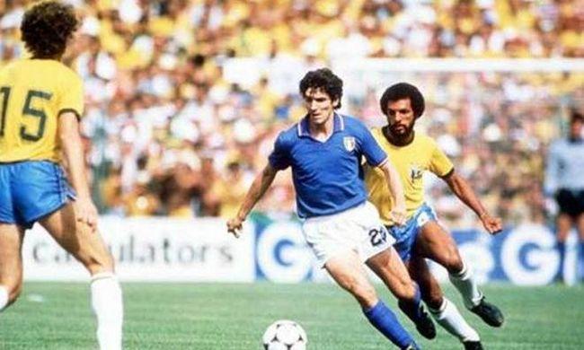 """Ο κανονιέρης που """"έκανε τη Βραζιλία να κλάψει"""". Ο Πάολο Ρόσι που καθάρισε μόνος του το Μουντιάλ της Ισπανίας, με 3 γκολ εναντίον της θεαματικής Βραζιλίας"""