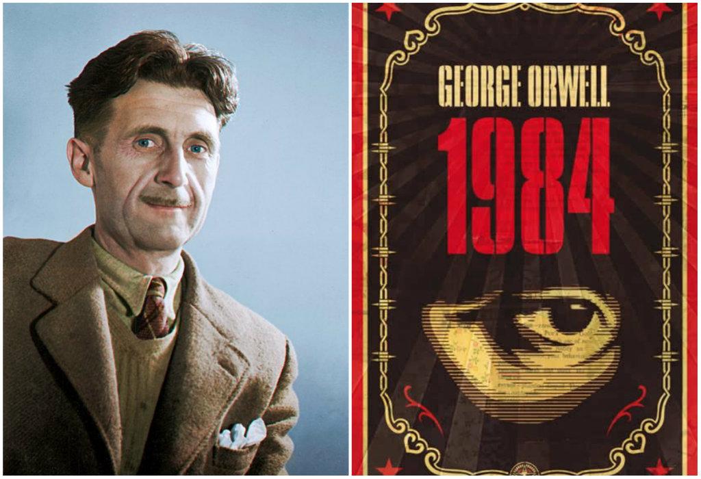 """Απαγορεύεται ο έρωτας, η σκέψη, η ιστορία που δεν συμφέρει το κόμμα! Οι αρχές του Μεγάλου Αδελφού από το θρυλικό βιβλίο """"1984"""" του Τζορτζ Όργουελ. Δείτε ένα βίντεο με την ιστορία του βιβλίου"""