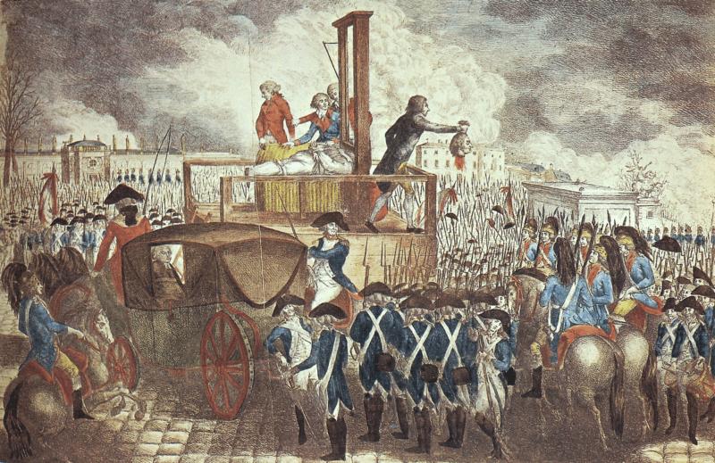 """Η πρώτη εκτέλεση με γκιλοτίνα. «Φέρτε πίσω τις αγχόνες», φώναζαν οι Γάλλοι πολίτες, επειδή η ταχύτητα του αποκεφαλισμού τους στερούσε το """"απολαυστικό"""" θέαμα!"""