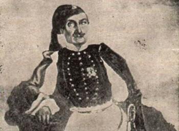 Νικόλαος Κασομούλης, ο Μακεδόνας αγωνιστής που θεωρείται ο ιστορικός του '21. Κατέγραψε την πολιορκία και την Έξοδο του Μεσολογγίου. Έχασε όλα του τα αδέλφια