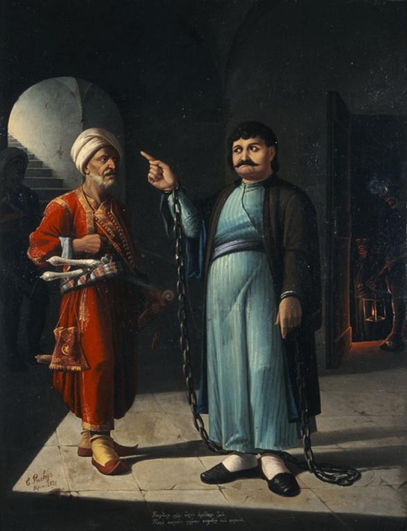 Ο στραγγαλισμός του Ρήγα Φεραίου από τους Τούρκους, που πέταξαν το πτώμα του Δούναβη. Ποιος Έλληνας τον πρόδωσε, με τη δικαιολογία ότι το σχέδιο του για επανάσταση ήταν τρελό