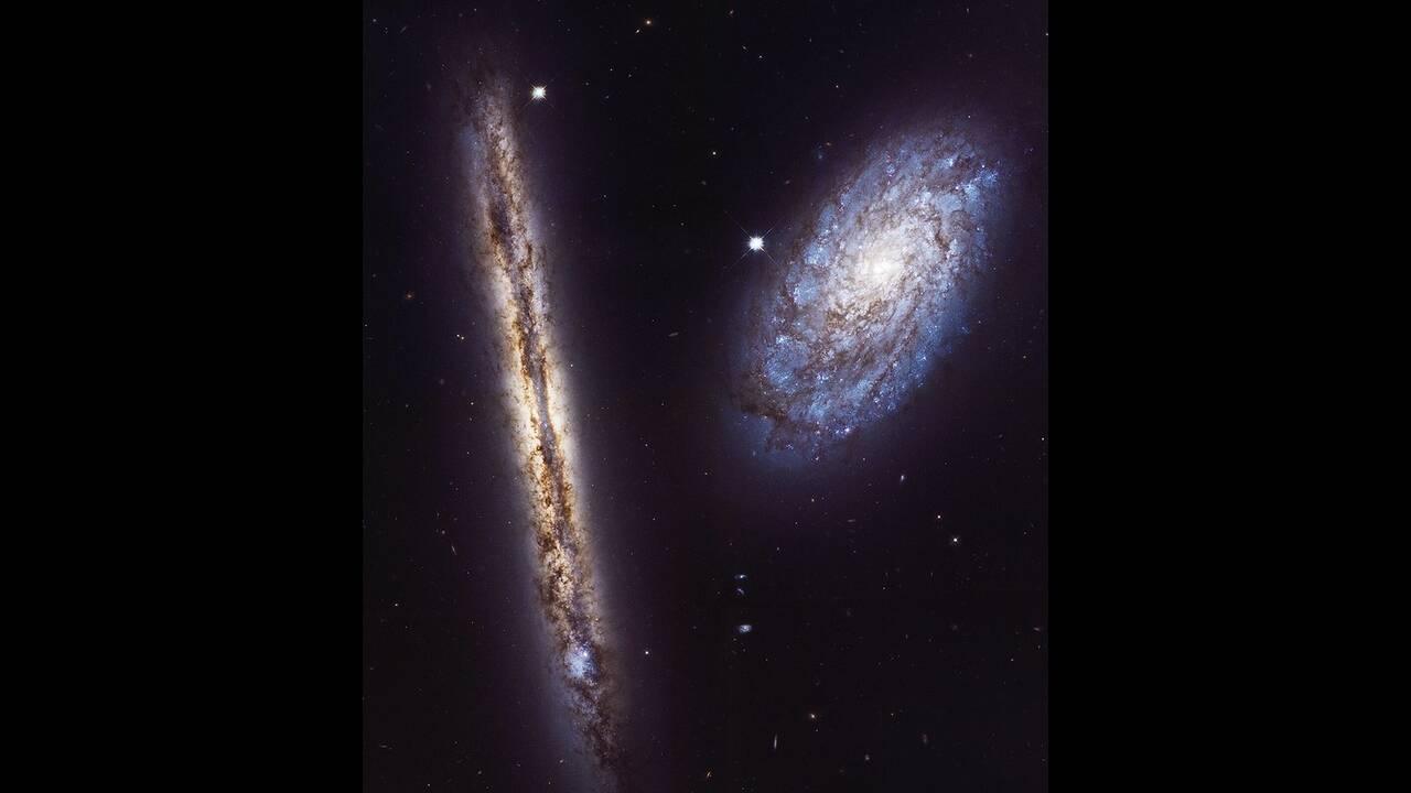Το διαστημικό τηλεσκόπιο Χαμπλ που φωτογράφισε γαλαξίες, που απέχουν πάνω από 10 εκατομμύρια έτη φωτός από τη Γη. Ήταν από τα πιο σημαντικά τηλεσκόπια τηςς ΝΑΣΑ