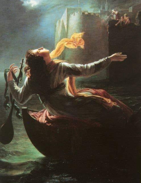 """""""Ο θάνατος του νεαρού διάκονου από τη Μεσσηνία"""". Ο πίνακας του Γάλλου ζωγράφου Ραβερά που περιγράφει άγνωστο συμβάν της επανάστασης"""