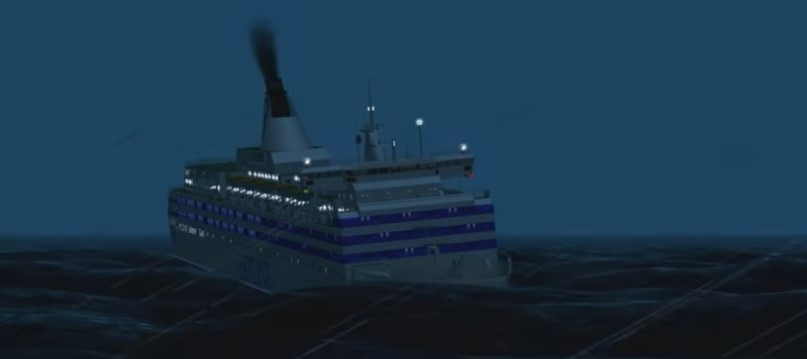 """Το ναυάγιο """"MS Estonia"""" στη Βαλτική, που οδήγησε 852 ανθρώπους στο θάνατο. Αρχικά ενοχοποίησαν τον καταπέλτη, αλλά η δημοσιογραφική έρευνα έδειξε ρήγμα από σύγκρουση!"""
