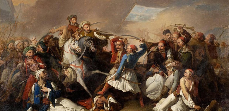 Η μάχη, που οι Αγωνιστές ήταν έτοιμοι να σκοτωθούν μεταξύ τους ενώ οι Τούρκοι ήταν σε απόσταση αναπνοής. Η αυτοκτονία του ήρωα Ανδρέα Λόντου και το μένος του Κωλέττη