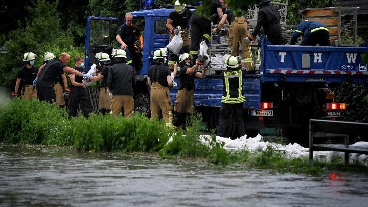 Κατέρρευσαν σπίτια από σφοδρές βροχοπτώσεις στη Γερμανία- 4 νεκροί και 30 αγνοούμενοι