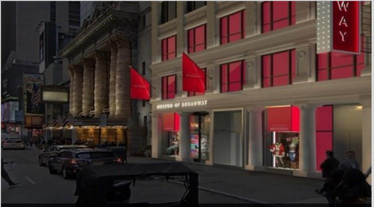 Μουσείο αφιερωμένο στο Μπρόντγουεϊ θα ανοίξει τις πύλες του στην Times Square το 2022