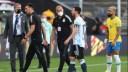 Συνέλαβαν 4 ποδοσφαιριστές της Αργεντινής κατά τη διάρκεια του αγώνα με τη Βραζιλία. Διακόπηκε το παιχνίδι. Έξαλλος ο Μέσι