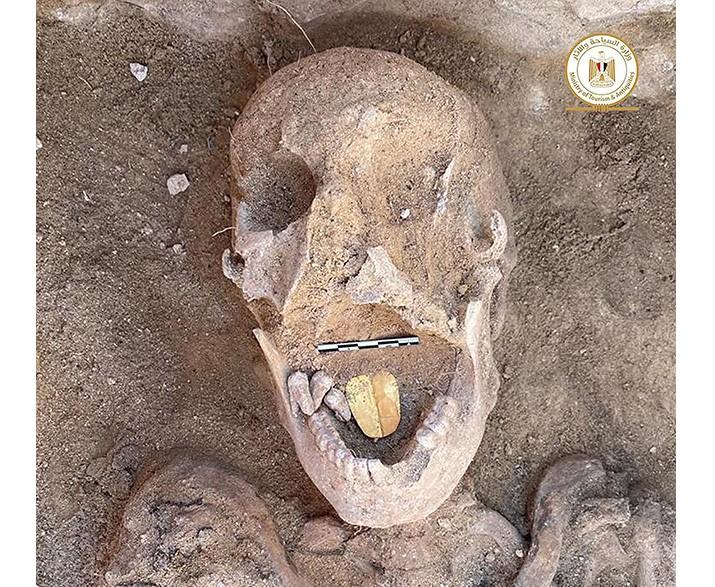 Βρέθηκε μούμια με χρυσή γλώσσα. Το αρχαιολογικό εύρημα στην Αίγυπτο και η σημασία του