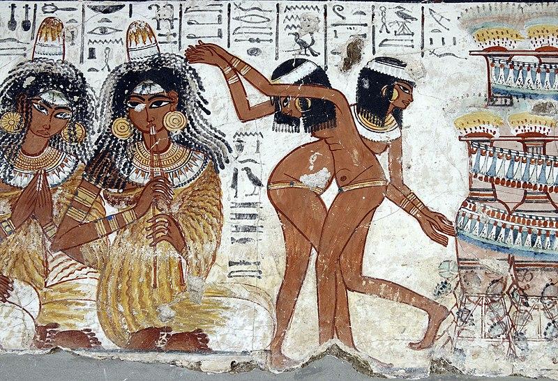 Ο έρωτας, η πορνεία και ο γάμος στην Αρχαία Αίγυπτο. Το δικαίωμα των ανύπαντρων γυναικών στον ελεύθερο  έρωτα