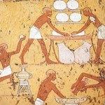 egiptenii fac paine