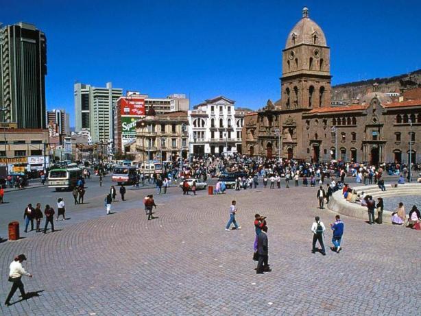 La Paz din Bolivia