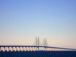Podul oresund ce leaga danemarca de suedia