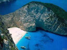 peisaj superb din insulele ionice