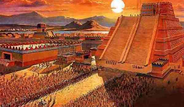 templul aztecilor si sacrificiile umane