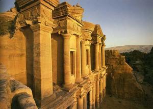 Manastirea Al deir -Petra -Iordania