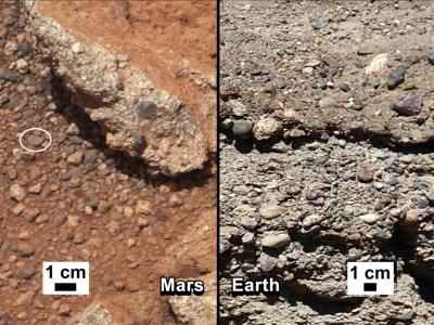 exista apa pe Marte