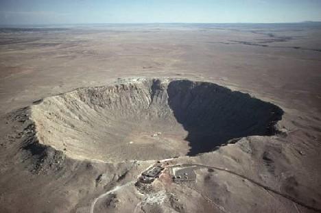 principala forma de relief a universului -craterele