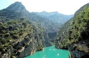 cheile Verdon ,cel mai frumos canion al Europei (2)