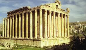 templul din baalbek