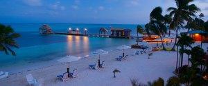 Belize, portile deschse ale raiului-plaja