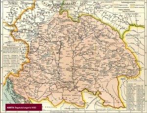 Matia Corvin -harta regatului Ungariei