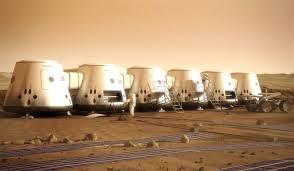 colonii pe Marte