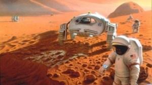 Pe cand primele colonii pe Marte