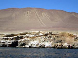 Candelabrul din Paracas, o geoglifa misterioasa