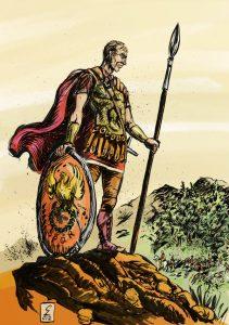 Dacul din slujba Romei Flavius Aetius