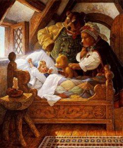 Principiul Goldilocks, inspirat din povestea pentru copii cu acelasi nume (Goldilocks and The Three Bears, Bucle de Aur si cei trei ursuleti), popularizata in 1837 de varianta lui Robert Southey