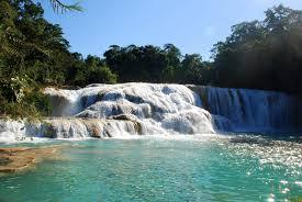 cascadele de la Agua Azul