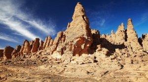 Muntii Tassili N'Ajjer din Algeria