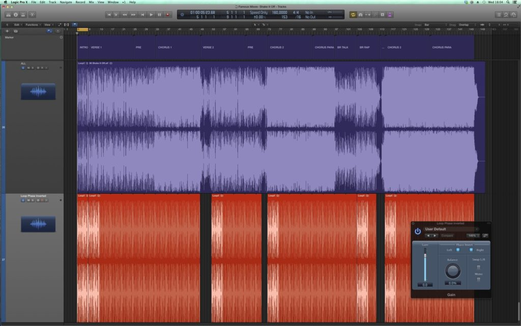 """How to remove the live drum loop from Taylor Swift's """"Shake It Off"""""""