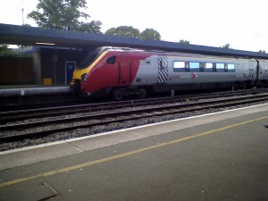 Trains at Oxford Station
