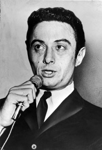 Lenny Bruce, photo from the Official Lenny Bruce Website