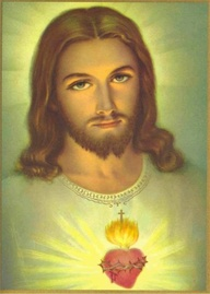 Sacred Heart of Jesus  Credit: Pinterest