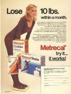 Metrecal Diet Drink