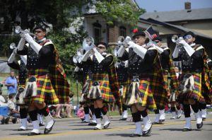 Racine Kilties Drum and Bugle Corps Photo Credit: Scott Anderson