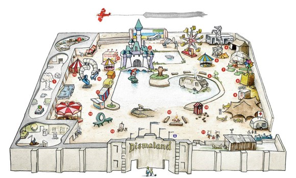 Credit: From the official website: http://dismaland.co.uk/map/