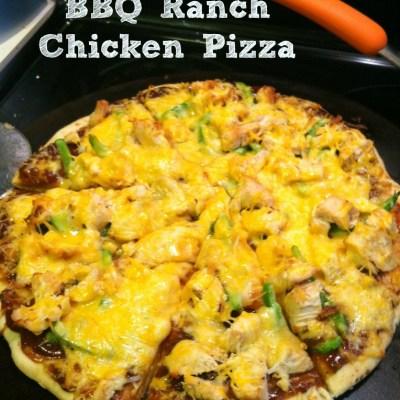 Recipe :: BBQ Ranch Chicken Pizza
